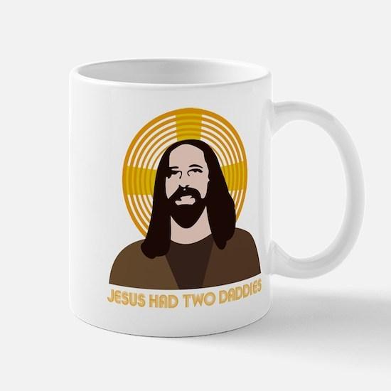 Jesus Had Two Dads Mug