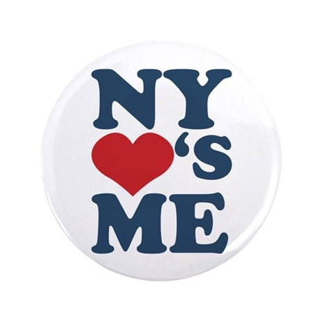 """NY Loves Me 3.5"""" Button (100 pack)"""