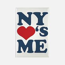 NY Loves Me Rectangle Magnet
