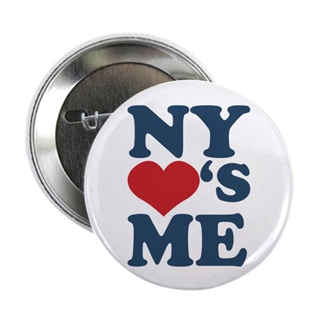 """NY Loves Me 2.25"""" Button (100 pack)"""