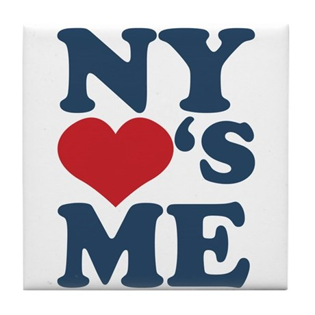 NY Loves Me Tile Coaster