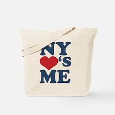 NY Loves Me Tote Bag