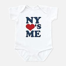 NY Loves Me Infant Bodysuit