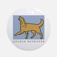 Happy Heeling Golden Ornament (Round)