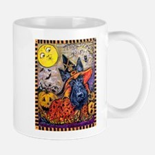 Witch Scottie Halloween Mug
