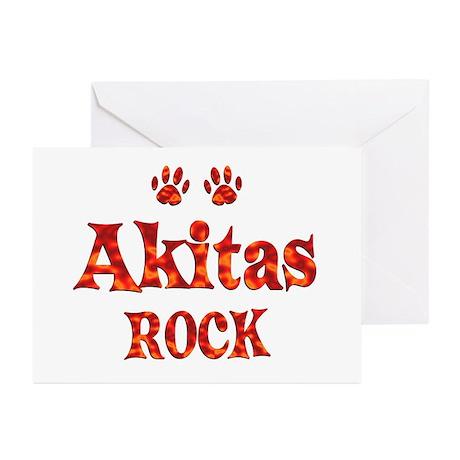 Akita Greeting Cards (Pk of 10)