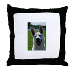 White German Shepherd Throw Pillow