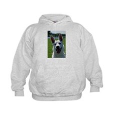 White German Shepherd Photo Hoodie