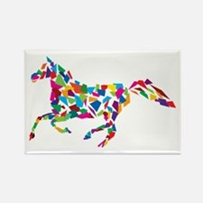 Galloping Horse Rectangle Magnet
