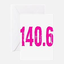 140.6 Greeting Card
