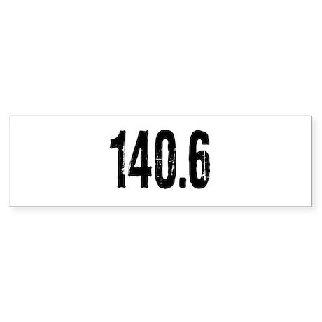 140.6 Sticker (Bumper)
