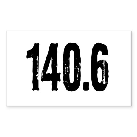 140.6 Sticker (Rectangle)