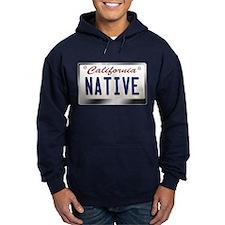 """NATIVE"" California License Plate Hoodie"