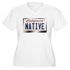 """NATIVE"" California License Plate T-Shirt"