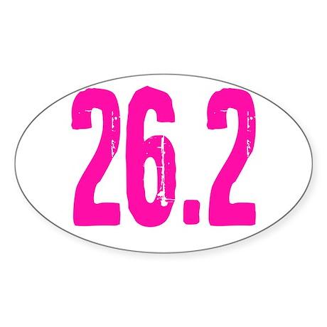 26.2 Sticker (Oval 10 pk)