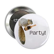 "Squirrel Party! 2.25"" Button"