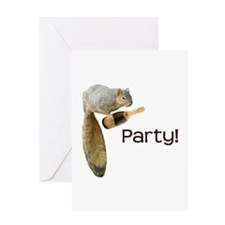 Squirrel Party! Greeting Card