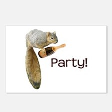 Squirrel Party! Postcards (Package of 8)