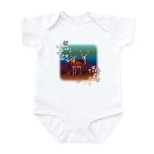 Red Deer Infant Bodysuit