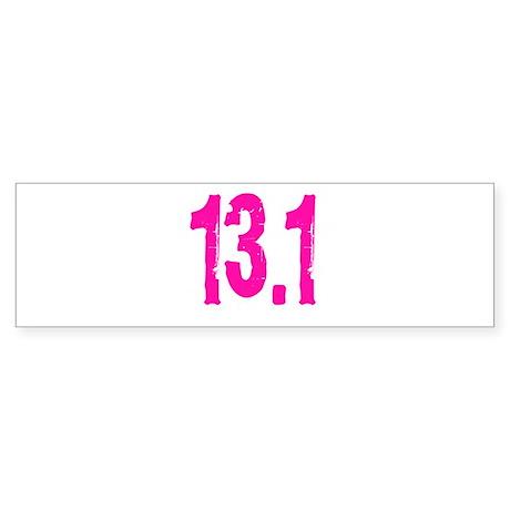13.1 Sticker (Bumper)
