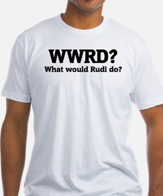 What would Rudi do? Shirt