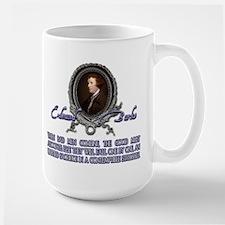 Edmund Burke: When Bad Men Co Large Mug