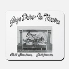 Gage Drive-In Theatre Mousepad