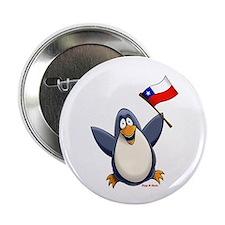 """Chile Penguin 2.25"""" Button"""