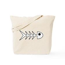 Fishbones Tote Bag