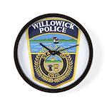 Willowick Police Wall Clock