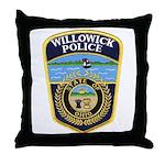 Willowick Police Throw Pillow