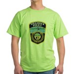 Willowick Police Green T-Shirt