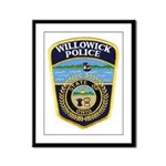 Willowick Police Framed Panel Print