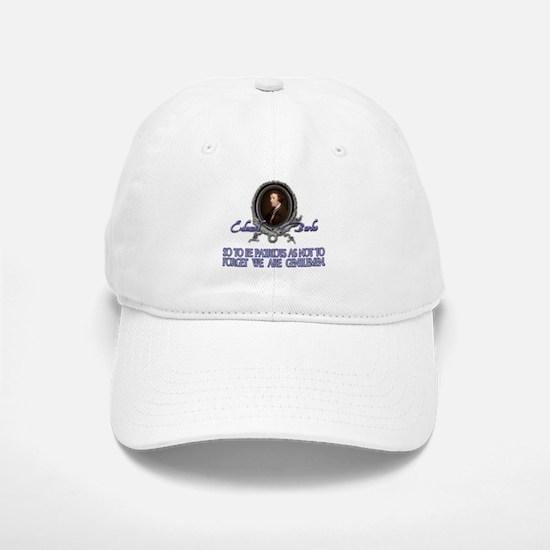 Edmund Burke: Patriots & Gent Baseball Baseball Cap