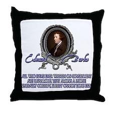 Liberty among the Corrupt Throw Pillow