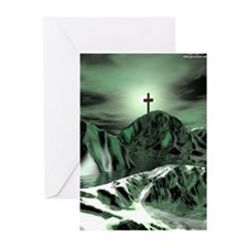Green Cross Cards (Pk of 10)