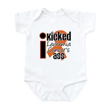 IKickedLeukemiaAss Infant Bodysuit