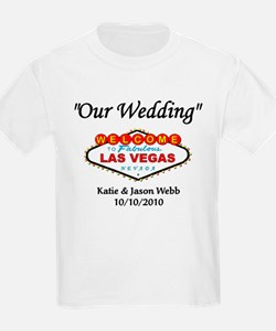 Our Wedding Personalized T-Shirt