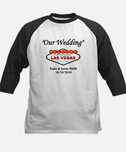 Our Wedding Personalized Kids Baseball Jersey