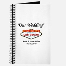Our Wedding Personalized Journal