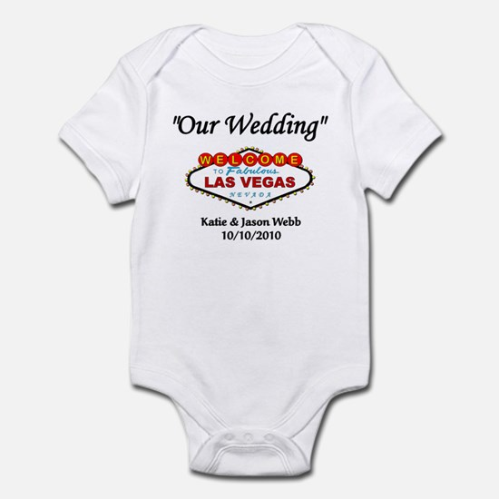 Our Wedding Personalized Infant Bodysuit