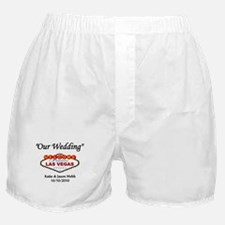 Our Wedding Personalized Boxer Shorts