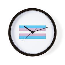 Trans Pride Wall Clock