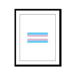 Trans Pride Framed Panel Print