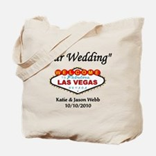Our Wedding Personalized Tote Bag