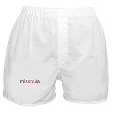 Cute Missoula montana Boxer Shorts