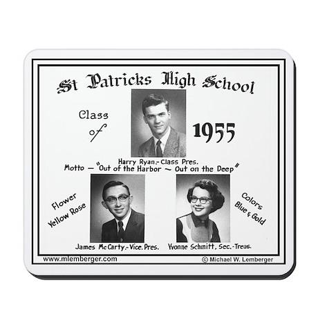 1955, Mousepad of Senior Photos Mousepad