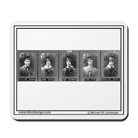 1929, Mousepad of Senior Photos Mousepad