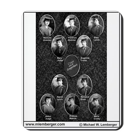1918, Mousepad of Senior Photos Mousepad