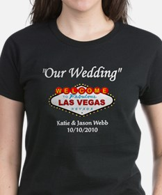 Our Wedding Personalized Tee